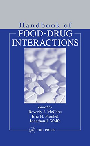 Handbook of Food-Drug Interactions (Nutrition Assessment)