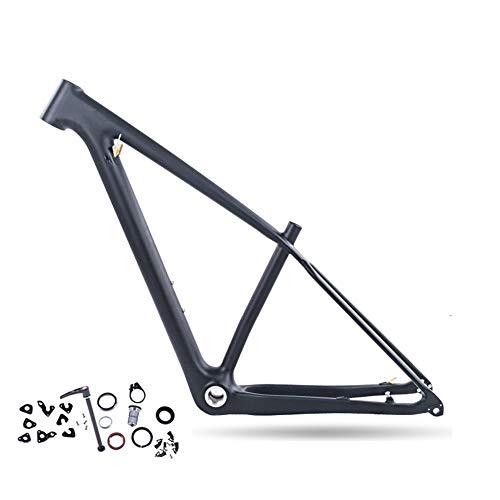 Wenhu Cuadro de Carbono MTB 29Er Cuadro de Carbono MTB 29 Cuadro de Bicicleta de montaña de Carbono 142 * 12 o 135 * 9 mm Cuadro de Bicicleta,S
