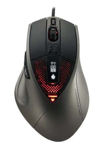 CM Storm Sentinel Advance II - Gaming Mouse with 8200 DPI Avago Sensor and 128KB Memory