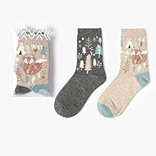 mikibana Socks For Girls Green & Gray