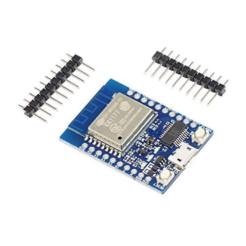 KKHMF ESP-WROOM-02開発ボード 2.4 GHz Wi-Fiモジュール Micro USB
