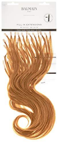 Balmain Lot de 50 extensions de cheveux humains 40 cm de long 9G Blond doré très clair 45 g