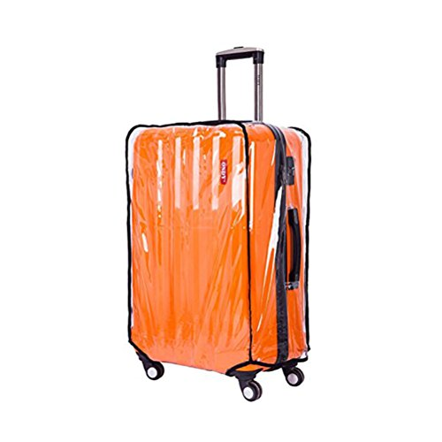 Tinksky 20-Inch Universal Transparent Travel Luggage Trolley Case Suitcase Cover