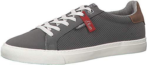 s.Oliver Herren Skater Sneaker 13630-22,Männer Sportschuh,Low-Top,Grey,41 EU