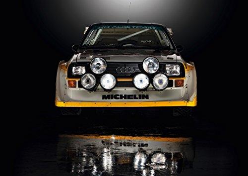 Poster Audi Sport Quattro S1 Gesicht Avant
