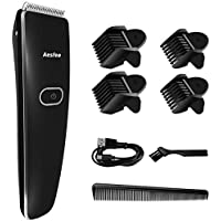 Hair Clipper Cordless Beard Trimmer with Stainless Steel Blades