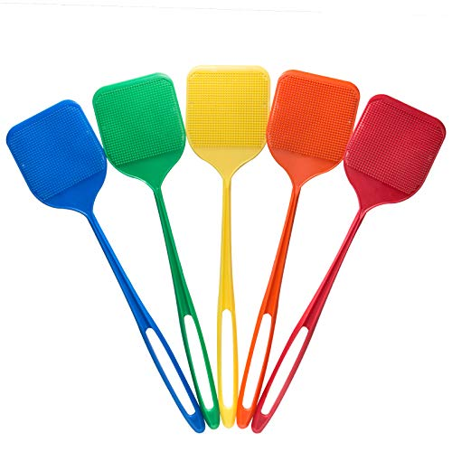 Smart Swatter Fly Swatter   Picks UP The Bug w/ 904 Spikes   2 Pack Variety   Patented & Made in The USA   Insects, Bugs and Fly Killer