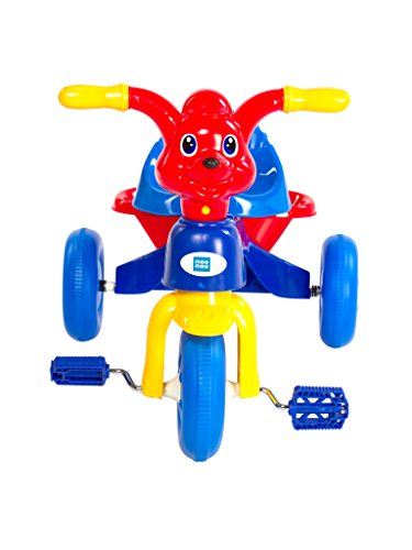Mee Mee Easy to Ride Baby Tricycle with Push Handle (Dark Pink)