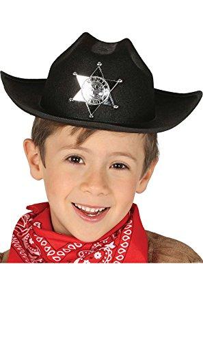 Guirca Fiestas GUI13563 Chapeau en Feutre Noir pour Enfant