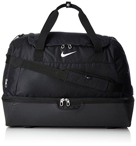 Nike Unisex Sporttasche Club Team Hardcase, black/white, 55 x 42 x 36 cm, 62 Liter, BA5197-010
