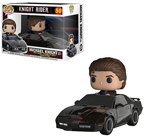 Funko 32721 POP Rides: Knight Rider: KITT and Michael Knight
