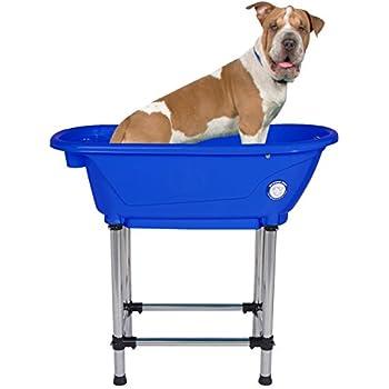 "Flying Pig Pet Dog Cat Portable Bath Tub (Royal, 37.5""x19.5""x35.5"")"