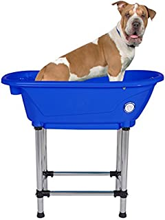 Flying Pig Pet Dog Cat Portable Bath Tub (Royal, 37.5