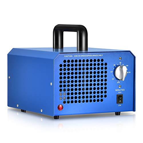 GCSJ Generador de Ozono Comercial 3000 a 7000mg/h con Temporizador Aju