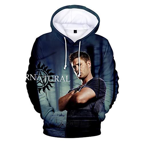 Supernatural Merch Hoodie Men/Women Fashion Casual Sweatshirt 3D Print...