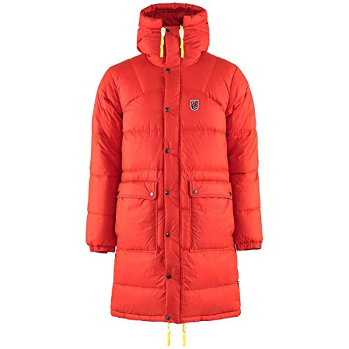 FJALLRAVEN Expedition Long Down Parka M, Herren L rot