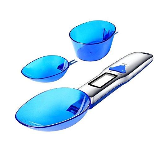 Multifunctionele Elektronische meetinstrumenten Lepel met 3 vervangbare lepels, Mini Baking Scale, geschikt voor een gewicht van zout, suiker, zetmeel, olie, thee, Medicinal Materials