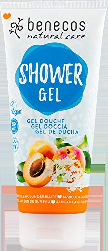benecos Bio Natural Shower Gel Aprikose & Holunderblüte (6 x 200 ml)
