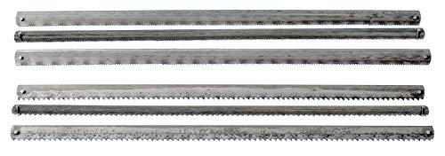 6 Sägeblätter Holz/Metall sortiert
