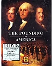 The History Channel 13 Show Collection : Founding Fathers (Complete Mini-series) , Founding Brothers (Complete Mini-series) ,The Conflict Ignites ,1776 , Washington & Arnold , the World At War , England's Last Chance , Birth of the Republic , the Revolution (Complete Series) ,Washington the Warrior , Ben Franklin , Benedict Arnold a Question of Honor , the Crossing : 14 DVD SET , Over 27 Hours