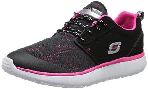 Skechers Skechers Damen Counterpart Sneaker, Schwarz (BKHP), 36