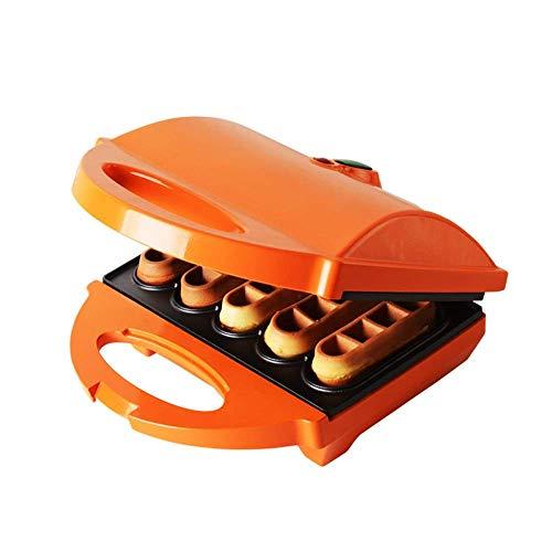 DX wafelijzer voor de keuken, sandwich-broodrooster, grill en wafelmaker, cool touch housing, compact storage, anti-stick coating, met indicator, 640 W