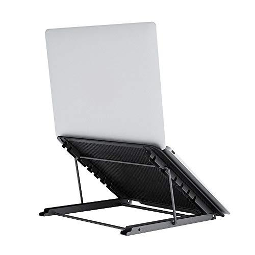 "Laptop Stand,Foldable Tablet Laptop Holder Stand Ventilated Adjustable Eye-Level Ergonomic Laptop Riser Laptop Holder Desk Stand for 10'-15""Computer Notebook PC Pad"