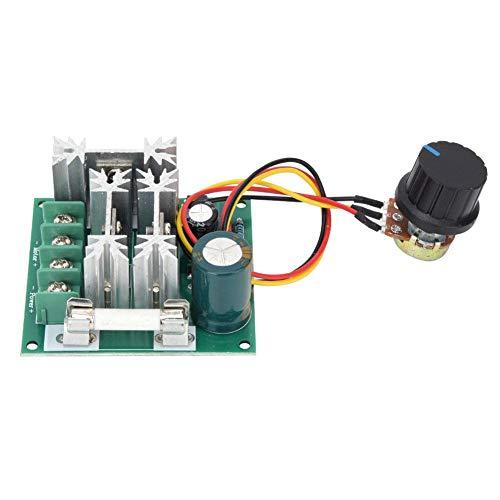 Motortoerentalregelaar, DC 6~90 V 0,01~1000 W vermogens-PWM-regelaar met zekering, motor PWM toerentalregelaar module