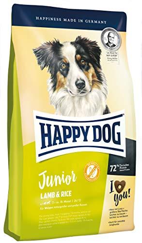 Happy Dog Supreme Young Junior Lamm & Reis, 4 kg