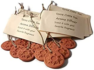 essential oil pendants terracotta