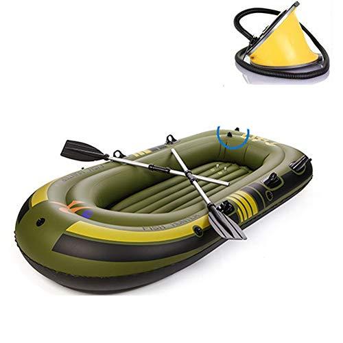 Sgs-b Hinchable Kayak Inflable para 3 Personas, Bote Inflable para Botes De...
