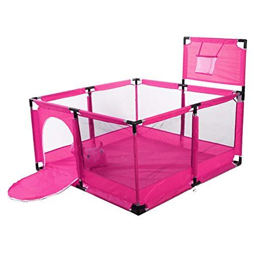 applyvt Parque para Bebés Parque Infantil Plegable, Material De Tela Oxford, Parque...