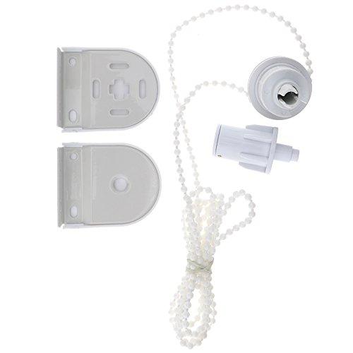 Ersatzteil-Set für Rollo (32mm); Metall-Halterung, Schutzhülle und Kette
