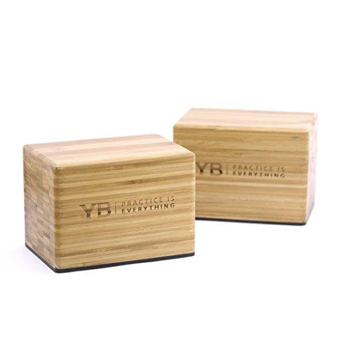 YOGABODY Bamboo Handstand Blocks