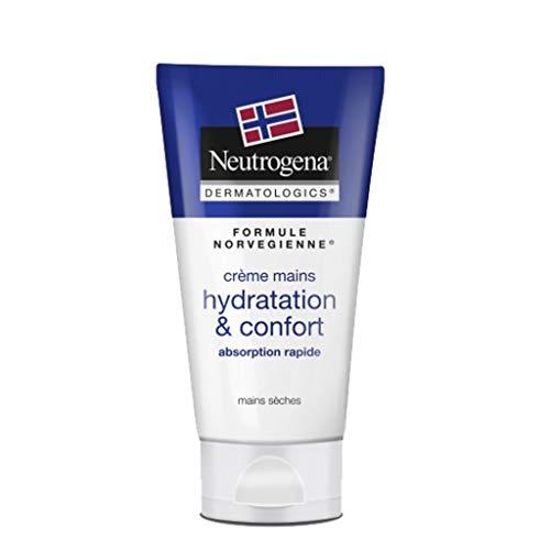 Neutrogena Formule Norvégienne Crème Mains Hydratation & Confort Mains Sèches 75ml (lot de 3)