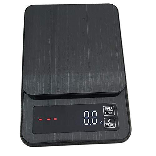 Keuken Elektronica, Gebakken Elektronische Schaal Gemaakt van roestvrij staal, Duurzaam, Betrouwbaar 5000G/0.1G