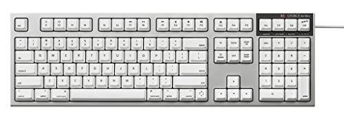 東プレ REALFORCE for Macフルキーボード「PFU Limited Edition」英語配列 スーパーホワイト PZ-R2SA-US4M-WH