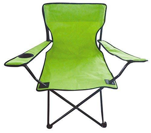 Spetebo Camping klapstoel in 7 kleuren - campingstoel, visstoel met bekerhouder