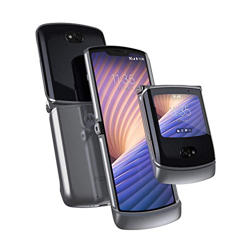Motorola Razr 5G | Unlocked | Made for US by Motorola | 8/256GB | 48MP Camera | 2020 | Liquid Mercury