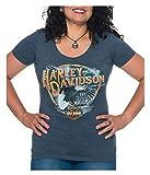 Harley-Davidson Women's Shock & Awe Short Sleeve Scoop Neck...