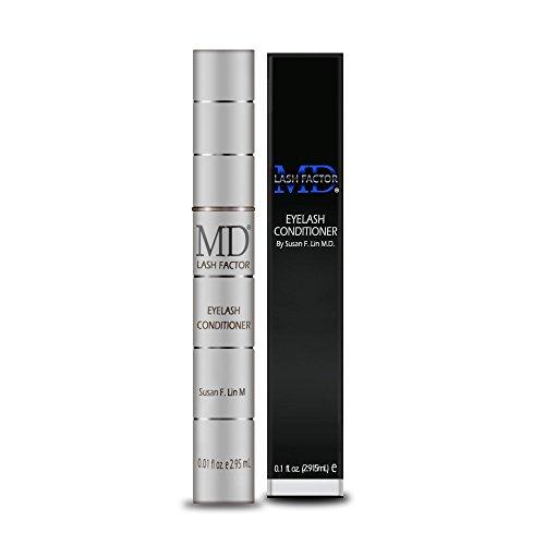 MD Lash Factor Eyelash Growth Serum| Enhances Your Natural Lashes For A Fuller, Longer & Denser Look | Eye Lash Enhancer for Women | 0.1 Fl Oz - 3...