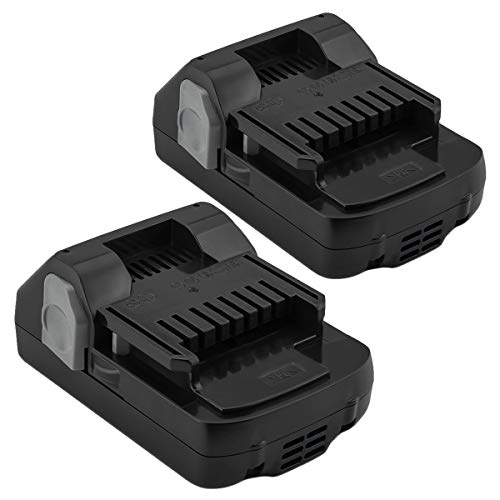 Shentec 2-Pack 3000mAh 18 Volt Battery Compatible with Hitachi 339782 BSL1830C BSL1815X BSL1815S BSL1830 330139 330557 (18V Lithium Battery)