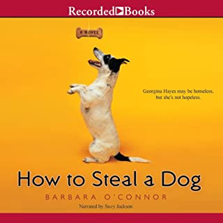 How to Steal a Dog audiobook cover art