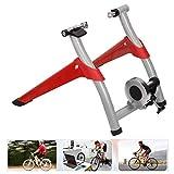 QXT Soporte de Entrenador de Bicicleta fluida Soporte de Ejercicio para Bicicleta Interior,Bicicleta de montaña y Carretera,Entrenamiento de Ciclismo Plegable portátil, liberación rápida,