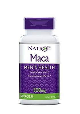 Natrol Maca (500mg, 60 Capsules) by Natrol