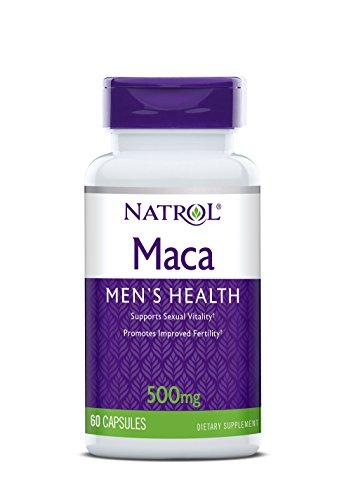 Natrol Maca 500mg Capsules, 60-Count