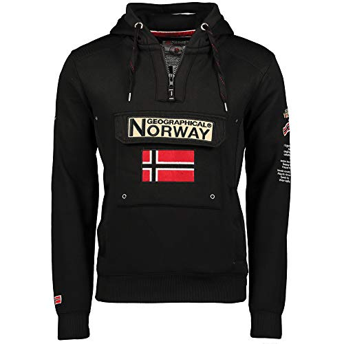 Geographical Norway - Sudadera para hombre Negro M
