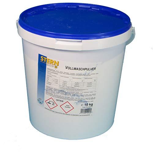 10kg Original Stern Waschmittel Vollwaschmittel Pulver im Eimer phosphatfrei bis 90° ca. 105 Waschladungen Made in Germany