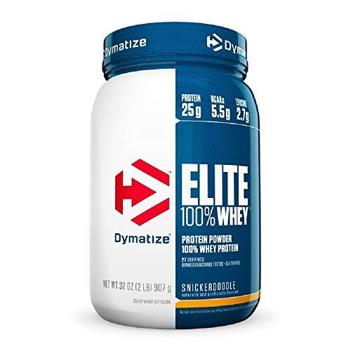 Elite Whey Protein Sabor Baunilha (907g) - Dymatize