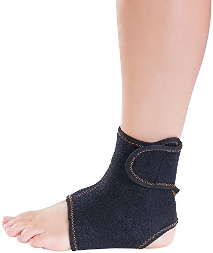 Speeron Fußgelenkstütze: Sprunggelenk- und Knöchel-Bandage, unisex, Größe XS - S (Knöchelbandage)